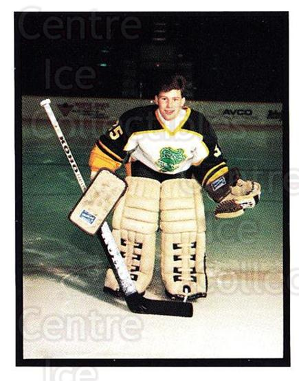 1986-87 London Knights #27 Stephen Titus<br/>6 In Stock - $3.00 each - <a href=https://centericecollectibles.foxycart.com/cart?name=1986-87%20London%20Knights%20%2327%20Stephen%20Titus...&quantity_max=6&price=$3.00&code=25306 class=foxycart> Buy it now! </a>