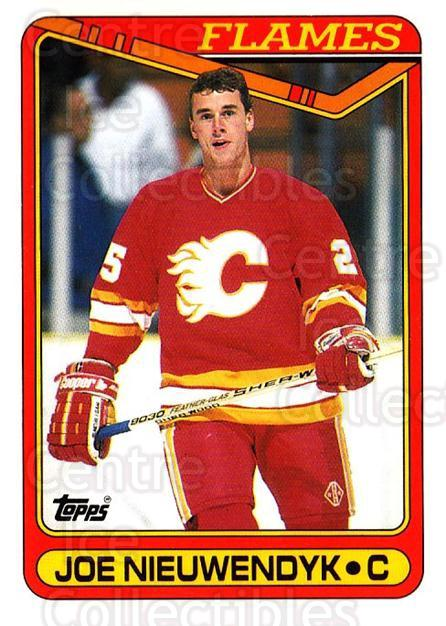 1990-91 Topps #87 Joe Nieuwendyk<br/>5 In Stock - $1.00 each - <a href=https://centericecollectibles.foxycart.com/cart?name=1990-91%20Topps%20%2387%20Joe%20Nieuwendyk...&quantity_max=5&price=$1.00&code=253130 class=foxycart> Buy it now! </a>