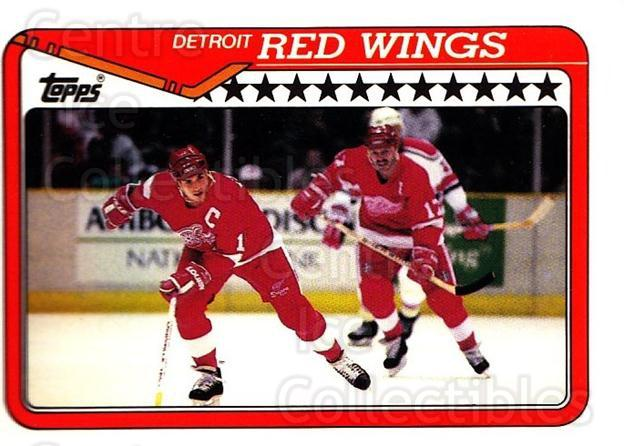 1990-91 Topps #133 Detroit Red Wings, Steve Yzerman<br/>4 In Stock - $1.00 each - <a href=https://centericecollectibles.foxycart.com/cart?name=1990-91%20Topps%20%23133%20Detroit%20Red%20Win...&price=$1.00&code=253176 class=foxycart> Buy it now! </a>