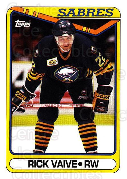 1990-91 Topps #148 Rick Vaive<br/>5 In Stock - $1.00 each - <a href=https://centericecollectibles.foxycart.com/cart?name=1990-91%20Topps%20%23148%20Rick%20Vaive...&quantity_max=5&price=$1.00&code=253191 class=foxycart> Buy it now! </a>