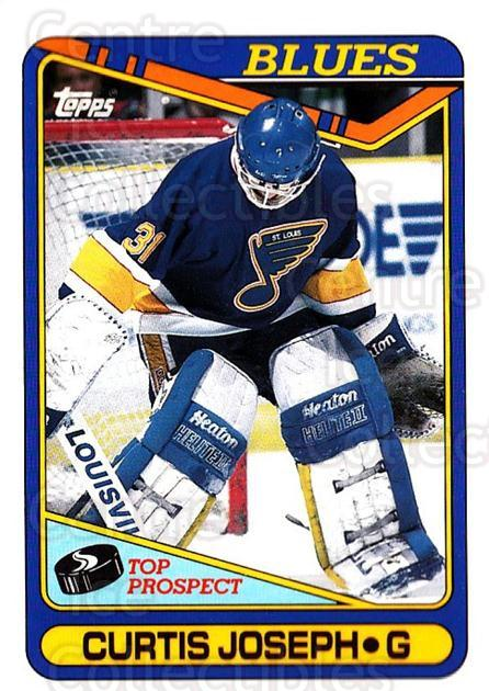 1990-91 Topps #171 Curtis Joseph<br/>5 In Stock - $1.00 each - <a href=https://centericecollectibles.foxycart.com/cart?name=1990-91%20Topps%20%23171%20Curtis%20Joseph...&quantity_max=5&price=$1.00&code=253214 class=foxycart> Buy it now! </a>