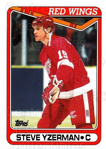 1990-91 Topps #222 Steve Yzerman<br/>5 In Stock - $1.00 each - <a href=https://centericecollectibles.foxycart.com/cart?name=1990-91%20Topps%20%23222%20Steve%20Yzerman...&price=$1.00&code=253265 class=foxycart> Buy it now! </a>