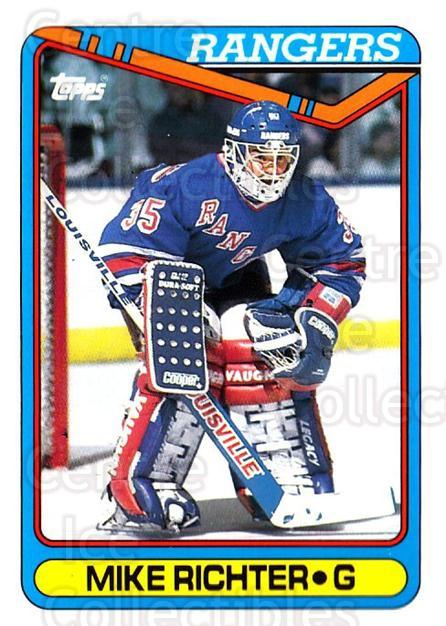 1990-91 Topps #330 Mike Richter<br/>13 In Stock - $1.00 each - <a href=https://centericecollectibles.foxycart.com/cart?name=1990-91%20Topps%20%23330%20Mike%20Richter...&price=$1.00&code=253373 class=foxycart> Buy it now! </a>