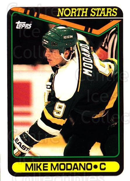 1990-91 Topps #348 Mike Modano<br/>37 In Stock - $2.00 each - <a href=https://centericecollectibles.foxycart.com/cart?name=1990-91%20Topps%20%23348%20Mike%20Modano...&quantity_max=37&price=$2.00&code=253391 class=foxycart> Buy it now! </a>