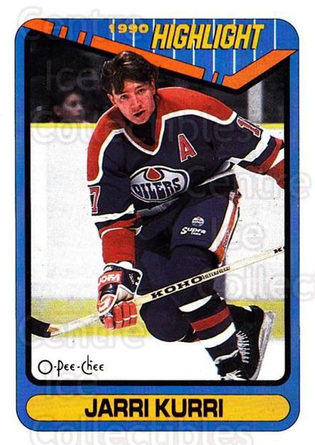 1990-91 O-Pee-Chee #5 Jari Kurri<br/>7 In Stock - $1.00 each - <a href=https://centericecollectibles.foxycart.com/cart?name=1990-91%20O-Pee-Chee%20%235%20Jari%20Kurri...&quantity_max=7&price=$1.00&code=253444 class=foxycart> Buy it now! </a>
