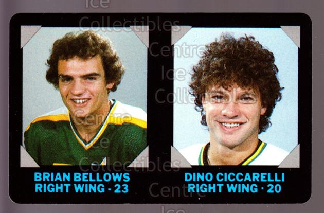 1985-86 7-Eleven Credit Cards 7-11 #9 Brian Bellows, Dino Ciccarelli<br/>9 In Stock - $3.00 each - <a href=https://centericecollectibles.foxycart.com/cart?name=1985-86%207-Eleven%20Credit%20Cards%207-11%20%239%20Brian%20Bellows,%20...&quantity_max=9&price=$3.00&code=25348 class=foxycart> Buy it now! </a>