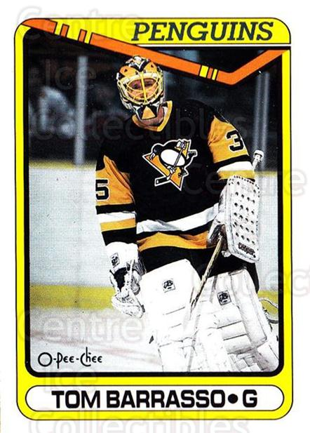 1990-91 O-Pee-Chee #65 Tom Barrasso<br/>6 In Stock - $1.00 each - <a href=https://centericecollectibles.foxycart.com/cart?name=1990-91%20O-Pee-Chee%20%2365%20Tom%20Barrasso...&price=$1.00&code=253504 class=foxycart> Buy it now! </a>