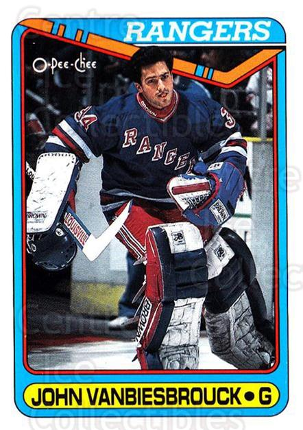 1990-91 O-Pee-Chee #75 John Vanbiesbrouck<br/>6 In Stock - $1.00 each - <a href=https://centericecollectibles.foxycart.com/cart?name=1990-91%20O-Pee-Chee%20%2375%20John%20Vanbiesbro...&quantity_max=6&price=$1.00&code=253514 class=foxycart> Buy it now! </a>