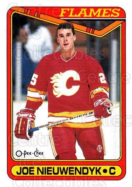 1990-91 O-Pee-Chee #87 Joe Nieuwendyk<br/>7 In Stock - $1.00 each - <a href=https://centericecollectibles.foxycart.com/cart?name=1990-91%20O-Pee-Chee%20%2387%20Joe%20Nieuwendyk...&quantity_max=7&price=$1.00&code=253526 class=foxycart> Buy it now! </a>