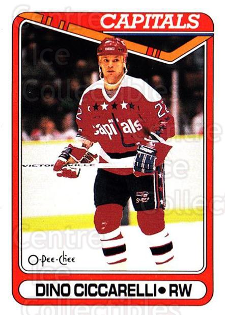 1990-91 O-Pee-Chee #100 Dino Ciccarelli<br/>7 In Stock - $1.00 each - <a href=https://centericecollectibles.foxycart.com/cart?name=1990-91%20O-Pee-Chee%20%23100%20Dino%20Ciccarelli...&quantity_max=7&price=$1.00&code=253539 class=foxycart> Buy it now! </a>