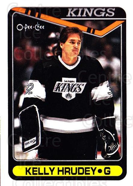 1990-91 O-Pee-Chee #103 Kelly Hrudey<br/>7 In Stock - $1.00 each - <a href=https://centericecollectibles.foxycart.com/cart?name=1990-91%20O-Pee-Chee%20%23103%20Kelly%20Hrudey...&quantity_max=7&price=$1.00&code=253542 class=foxycart> Buy it now! </a>