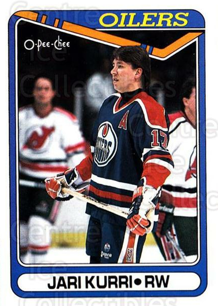 1990-91 O-Pee-Chee #108 Jari Kurri<br/>5 In Stock - $1.00 each - <a href=https://centericecollectibles.foxycart.com/cart?name=1990-91%20O-Pee-Chee%20%23108%20Jari%20Kurri...&quantity_max=5&price=$1.00&code=253547 class=foxycart> Buy it now! </a>