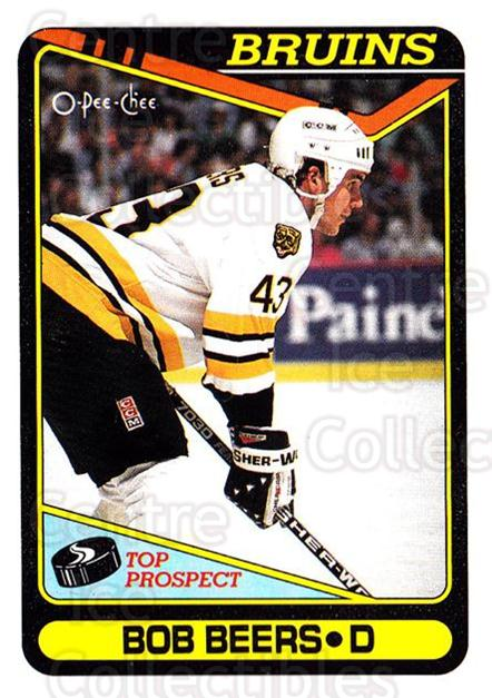 1990-91 O-Pee-Chee #113 Bob Beers<br/>7 In Stock - $1.00 each - <a href=https://centericecollectibles.foxycart.com/cart?name=1990-91%20O-Pee-Chee%20%23113%20Bob%20Beers...&quantity_max=7&price=$1.00&code=253552 class=foxycart> Buy it now! </a>
