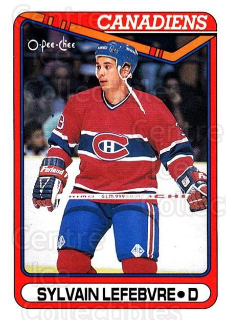 1990-91 O-Pee-Chee #159 Sylvain Lefebvre<br/>6 In Stock - $1.00 each - <a href=https://centericecollectibles.foxycart.com/cart?name=1990-91%20O-Pee-Chee%20%23159%20Sylvain%20Lefebvr...&quantity_max=6&price=$1.00&code=253598 class=foxycart> Buy it now! </a>