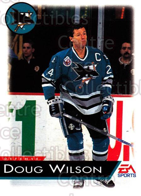 1994 EA Sports #115 Doug Wilson<br/>4 In Stock - $1.00 each - <a href=https://centericecollectibles.foxycart.com/cart?name=1994%20EA%20Sports%20%23115%20Doug%20Wilson...&quantity_max=4&price=$1.00&code=2535 class=foxycart> Buy it now! </a>