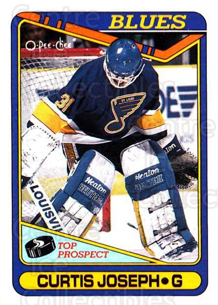 1990-91 O-Pee-Chee #171 Curtis Joseph<br/>4 In Stock - $1.00 each - <a href=https://centericecollectibles.foxycart.com/cart?name=1990-91%20O-Pee-Chee%20%23171%20Curtis%20Joseph...&quantity_max=4&price=$1.00&code=253610 class=foxycart> Buy it now! </a>
