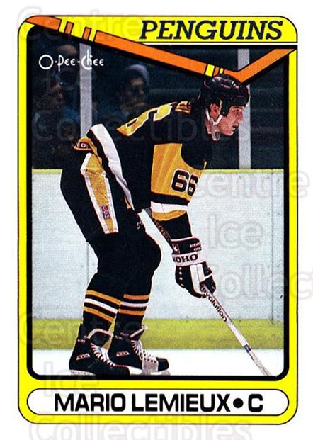 1990-91 O-Pee-Chee #175 Mario Lemieux<br/>3 In Stock - $2.00 each - <a href=https://centericecollectibles.foxycart.com/cart?name=1990-91%20O-Pee-Chee%20%23175%20Mario%20Lemieux...&price=$2.00&code=253614 class=foxycart> Buy it now! </a>