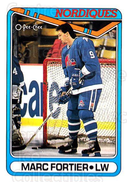 1990-91 O-Pee-Chee #176 Marc Fortier<br/>6 In Stock - $1.00 each - <a href=https://centericecollectibles.foxycart.com/cart?name=1990-91%20O-Pee-Chee%20%23176%20Marc%20Fortier...&quantity_max=6&price=$1.00&code=253615 class=foxycart> Buy it now! </a>