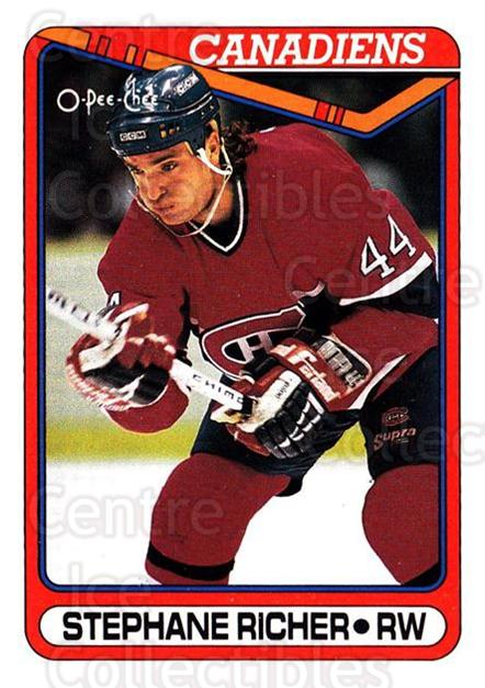 1990-91 O-Pee-Chee #186 Stephane Richer<br/>4 In Stock - $1.00 each - <a href=https://centericecollectibles.foxycart.com/cart?name=1990-91%20O-Pee-Chee%20%23186%20Stephane%20Richer...&quantity_max=4&price=$1.00&code=253625 class=foxycart> Buy it now! </a>