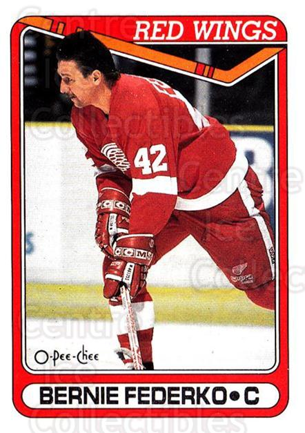 1990-91 O-Pee-Chee #191 Bernie Federko<br/>7 In Stock - $1.00 each - <a href=https://centericecollectibles.foxycart.com/cart?name=1990-91%20O-Pee-Chee%20%23191%20Bernie%20Federko...&quantity_max=7&price=$1.00&code=253630 class=foxycart> Buy it now! </a>