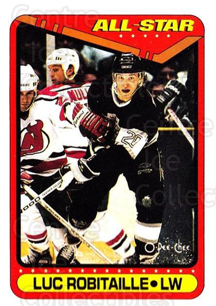 1990-91 O-Pee-Chee #194 Luc Robitaille<br/>7 In Stock - $1.00 each - <a href=https://centericecollectibles.foxycart.com/cart?name=1990-91%20O-Pee-Chee%20%23194%20Luc%20Robitaille...&quantity_max=7&price=$1.00&code=253633 class=foxycart> Buy it now! </a>