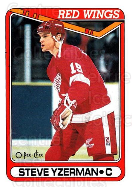 1990-91 O-Pee-Chee #222 Steve Yzerman<br/>5 In Stock - $1.00 each - <a href=https://centericecollectibles.foxycart.com/cart?name=1990-91%20O-Pee-Chee%20%23222%20Steve%20Yzerman...&price=$1.00&code=253661 class=foxycart> Buy it now! </a>