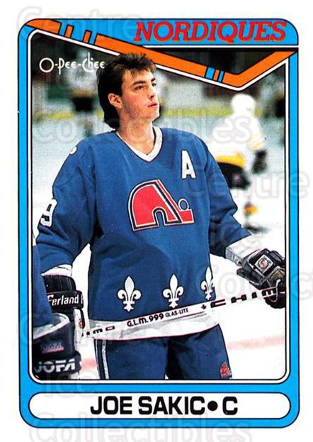 1990-91 O-Pee-Chee #384 Joe Sakic<br/>5 In Stock - $1.00 each - <a href=https://centericecollectibles.foxycart.com/cart?name=1990-91%20O-Pee-Chee%20%23384%20Joe%20Sakic...&price=$1.00&code=253823 class=foxycart> Buy it now! </a>
