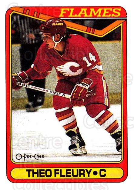 1990-91 O-Pee-Chee #386 Theo Fleury<br/>7 In Stock - $1.00 each - <a href=https://centericecollectibles.foxycart.com/cart?name=1990-91%20O-Pee-Chee%20%23386%20Theo%20Fleury...&quantity_max=7&price=$1.00&code=253825 class=foxycart> Buy it now! </a>