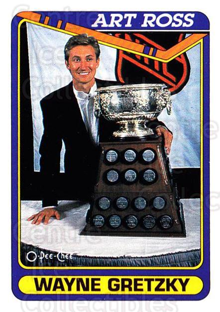 1990-91 O-Pee-Chee #522 Wayne Gretzky, Art Ross Trophy<br/>4 In Stock - $2.00 each - <a href=https://centericecollectibles.foxycart.com/cart?name=1990-91%20O-Pee-Chee%20%23522%20Wayne%20Gretzky,%20...&price=$2.00&code=253961 class=foxycart> Buy it now! </a>