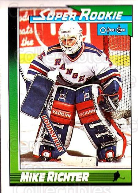 1991-92 O-Pee-Chee #11 Mike Richter<br/>5 In Stock - $1.00 each - <a href=https://centericecollectibles.foxycart.com/cart?name=1991-92%20O-Pee-Chee%20%2311%20Mike%20Richter...&quantity_max=5&price=$1.00&code=253978 class=foxycart> Buy it now! </a>