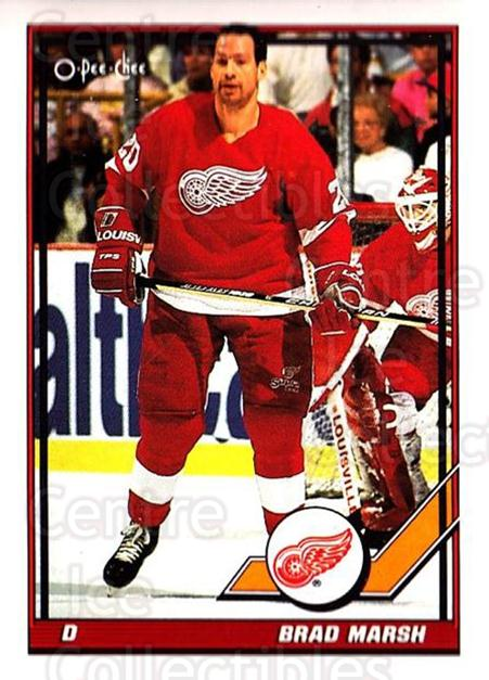 1991-92 O-Pee-Chee #19 Brad Marsh<br/>4 In Stock - $1.00 each - <a href=https://centericecollectibles.foxycart.com/cart?name=1991-92%20O-Pee-Chee%20%2319%20Brad%20Marsh...&quantity_max=4&price=$1.00&code=253986 class=foxycart> Buy it now! </a>