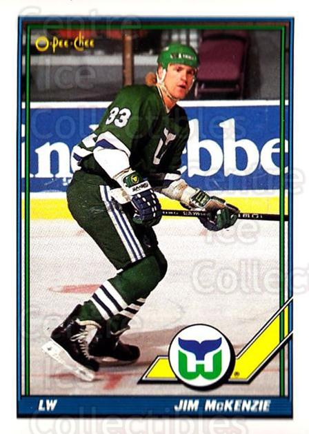 1991-92 O-Pee-Chee #24 Jim McKenzie<br/>4 In Stock - $1.00 each - <a href=https://centericecollectibles.foxycart.com/cart?name=1991-92%20O-Pee-Chee%20%2324%20Jim%20McKenzie...&quantity_max=4&price=$1.00&code=253991 class=foxycart> Buy it now! </a>