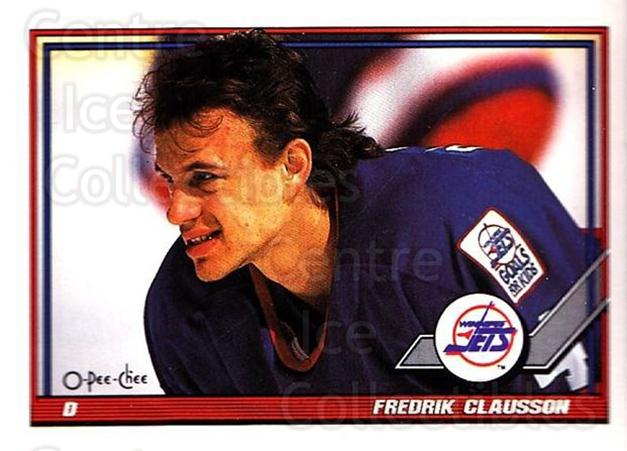 1991-92 O-Pee-Chee #45 Fredrik Olausson<br/>5 In Stock - $1.00 each - <a href=https://centericecollectibles.foxycart.com/cart?name=1991-92%20O-Pee-Chee%20%2345%20Fredrik%20Olausso...&quantity_max=5&price=$1.00&code=254012 class=foxycart> Buy it now! </a>