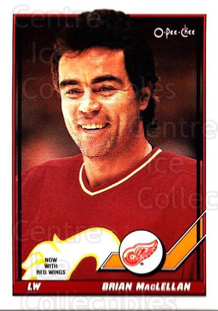1991-92 O-Pee-Chee #50 Brian MacLellan<br/>5 In Stock - $1.00 each - <a href=https://centericecollectibles.foxycart.com/cart?name=1991-92%20O-Pee-Chee%20%2350%20Brian%20MacLellan...&quantity_max=5&price=$1.00&code=254017 class=foxycart> Buy it now! </a>