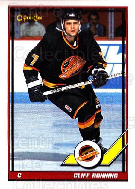 1991-92 O-Pee-Chee #59 Cliff Ronning<br/>5 In Stock - $1.00 each - <a href=https://centericecollectibles.foxycart.com/cart?name=1991-92%20O-Pee-Chee%20%2359%20Cliff%20Ronning...&quantity_max=5&price=$1.00&code=254026 class=foxycart> Buy it now! </a>