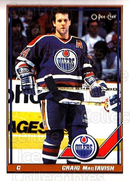 1991-92 O-Pee-Chee #63 Craig MacTavish<br/>4 In Stock - $1.00 each - <a href=https://centericecollectibles.foxycart.com/cart?name=1991-92%20O-Pee-Chee%20%2363%20Craig%20MacTavish...&quantity_max=4&price=$1.00&code=254030 class=foxycart> Buy it now! </a>