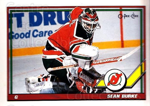 1991-92 O-Pee-Chee #67 Sean Burke<br/>5 In Stock - $1.00 each - <a href=https://centericecollectibles.foxycart.com/cart?name=1991-92%20O-Pee-Chee%20%2367%20Sean%20Burke...&quantity_max=5&price=$1.00&code=254034 class=foxycart> Buy it now! </a>