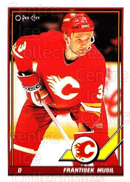 1991-92 O-Pee-Chee #68 Frank Musil<br/>5 In Stock - $1.00 each - <a href=https://centericecollectibles.foxycart.com/cart?name=1991-92%20O-Pee-Chee%20%2368%20Frank%20Musil...&quantity_max=5&price=$1.00&code=254035 class=foxycart> Buy it now! </a>