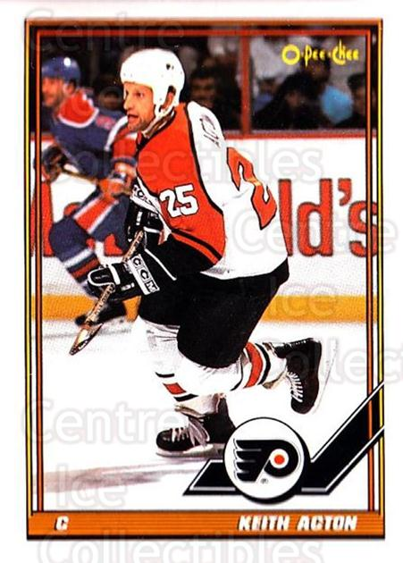 1991-92 O-Pee-Chee #77 Keith Acton<br/>4 In Stock - $1.00 each - <a href=https://centericecollectibles.foxycart.com/cart?name=1991-92%20O-Pee-Chee%20%2377%20Keith%20Acton...&quantity_max=4&price=$1.00&code=254044 class=foxycart> Buy it now! </a>