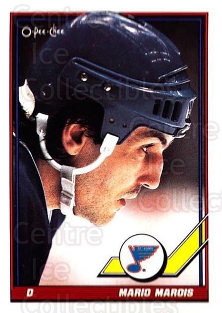 1991-92 O-Pee-Chee #82 Mario Marois<br/>5 In Stock - $1.00 each - <a href=https://centericecollectibles.foxycart.com/cart?name=1991-92%20O-Pee-Chee%20%2382%20Mario%20Marois...&quantity_max=5&price=$1.00&code=254049 class=foxycart> Buy it now! </a>