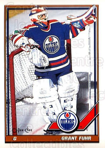 1991-92 O-Pee-Chee #84 Grant Fuhr<br/>3 In Stock - $1.00 each - <a href=https://centericecollectibles.foxycart.com/cart?name=1991-92%20O-Pee-Chee%20%2384%20Grant%20Fuhr...&quantity_max=3&price=$1.00&code=254051 class=foxycart> Buy it now! </a>