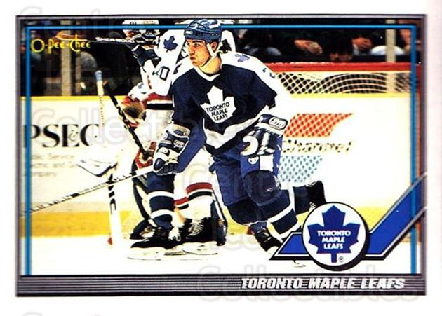 1991-92 O-Pee-Chee #123 Toronto Maple Leafs<br/>5 In Stock - $1.00 each - <a href=https://centericecollectibles.foxycart.com/cart?name=1991-92%20O-Pee-Chee%20%23123%20Toronto%20Maple%20L...&quantity_max=5&price=$1.00&code=254090 class=foxycart> Buy it now! </a>