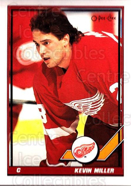 1991-92 O-Pee-Chee #125 Kevin Miller<br/>5 In Stock - $1.00 each - <a href=https://centericecollectibles.foxycart.com/cart?name=1991-92%20O-Pee-Chee%20%23125%20Kevin%20Miller...&quantity_max=5&price=$1.00&code=254092 class=foxycart> Buy it now! </a>