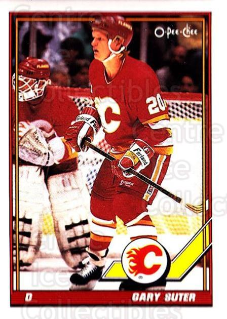 1991-92 O-Pee-Chee #151 Gary Suter<br/>4 In Stock - $1.00 each - <a href=https://centericecollectibles.foxycart.com/cart?name=1991-92%20O-Pee-Chee%20%23151%20Gary%20Suter...&quantity_max=4&price=$1.00&code=254118 class=foxycart> Buy it now! </a>