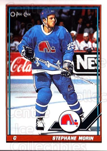 1991-92 O-Pee-Chee #159 Stephane Morin<br/>2 In Stock - $1.00 each - <a href=https://centericecollectibles.foxycart.com/cart?name=1991-92%20O-Pee-Chee%20%23159%20Stephane%20Morin...&quantity_max=2&price=$1.00&code=254126 class=foxycart> Buy it now! </a>