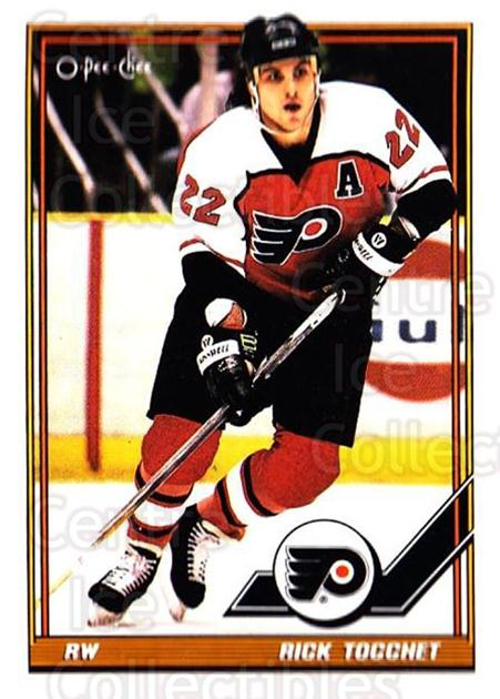 1991-92 O-Pee-Chee #160 Rick Tocchet<br/>4 In Stock - $1.00 each - <a href=https://centericecollectibles.foxycart.com/cart?name=1991-92%20O-Pee-Chee%20%23160%20Rick%20Tocchet...&quantity_max=4&price=$1.00&code=254127 class=foxycart> Buy it now! </a>