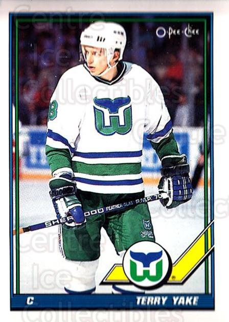 1991-92 O-Pee-Chee #169 Terry Yake<br/>3 In Stock - $1.00 each - <a href=https://centericecollectibles.foxycart.com/cart?name=1991-92%20O-Pee-Chee%20%23169%20Terry%20Yake...&quantity_max=3&price=$1.00&code=254136 class=foxycart> Buy it now! </a>