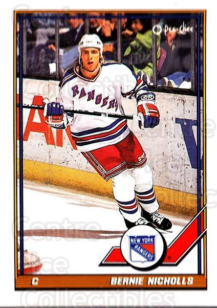 1991-92 O-Pee-Chee #174 Bernie Nicholls<br/>5 In Stock - $1.00 each - <a href=https://centericecollectibles.foxycart.com/cart?name=1991-92%20O-Pee-Chee%20%23174%20Bernie%20Nicholls...&quantity_max=5&price=$1.00&code=254141 class=foxycart> Buy it now! </a>