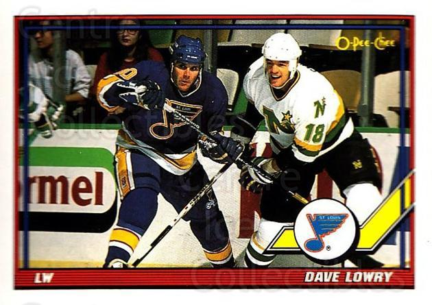 1991-92 O-Pee-Chee #180 Dave Lowry<br/>5 In Stock - $1.00 each - <a href=https://centericecollectibles.foxycart.com/cart?name=1991-92%20O-Pee-Chee%20%23180%20Dave%20Lowry...&quantity_max=5&price=$1.00&code=254147 class=foxycart> Buy it now! </a>