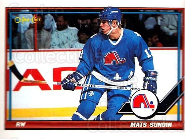 1991-92 O-Pee-Chee #219 Mats Sundin<br/>5 In Stock - $1.00 each - <a href=https://centericecollectibles.foxycart.com/cart?name=1991-92%20O-Pee-Chee%20%23219%20Mats%20Sundin...&quantity_max=5&price=$1.00&code=254186 class=foxycart> Buy it now! </a>